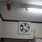 リビング、キッチンには防火装置を完備